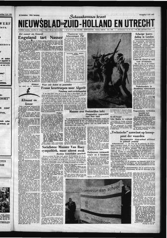 Schoonhovensche Courant 1961-07-05