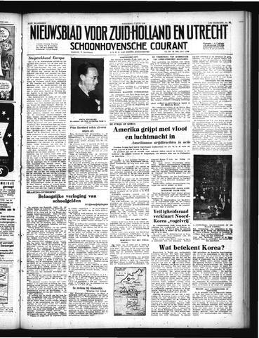 Schoonhovensche Courant 1950-06-28
