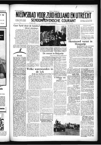 Schoonhovensche Courant 1956-12-07