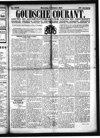 Goudsche Courant 1927-10-17