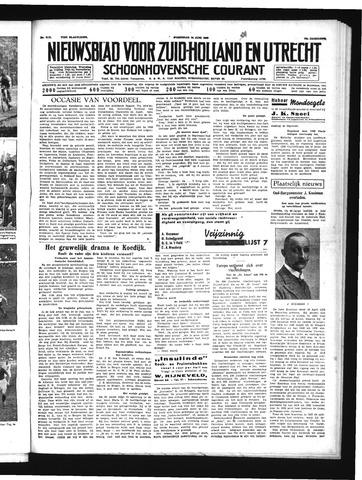 Schoonhovensche Courant 1939-06-14