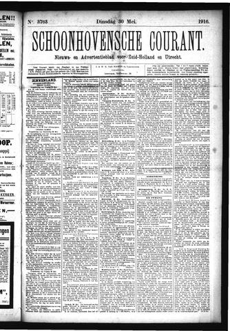 Schoonhovensche Courant 1916-05-30