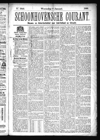 Schoonhovensche Courant 1896-01-08