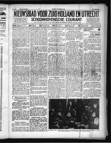 Schoonhovensche Courant 1938-02-21