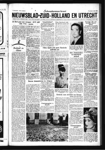 Schoonhovensche Courant 1963-07-03