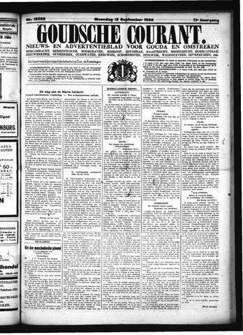 Goudsche Courant 1932-09-12