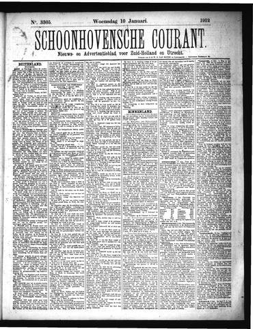 Schoonhovensche Courant 1912-01-10