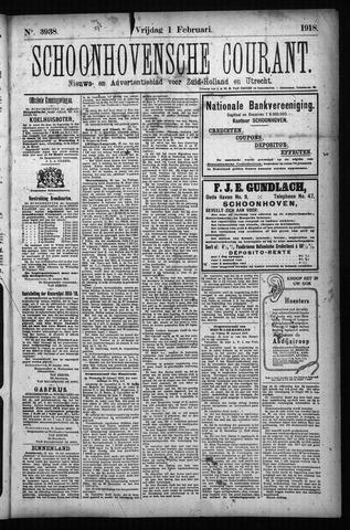 Schoonhovensche Courant 1918-02-01