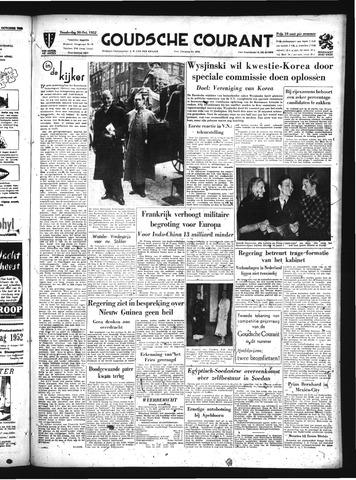 Goudsche Courant 1952-10-30