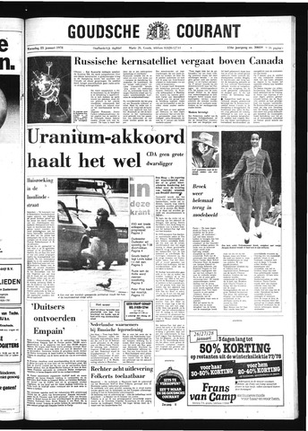 Goudsche Courant 1978-01-25