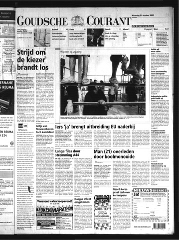 Goudsche Courant 2002-10-21