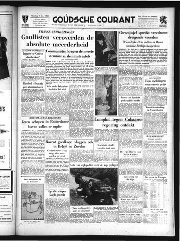 Goudsche Courant 1958-12-01