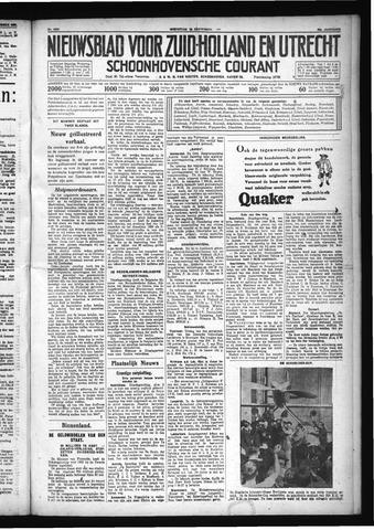 Schoonhovensche Courant 1931-09-16
