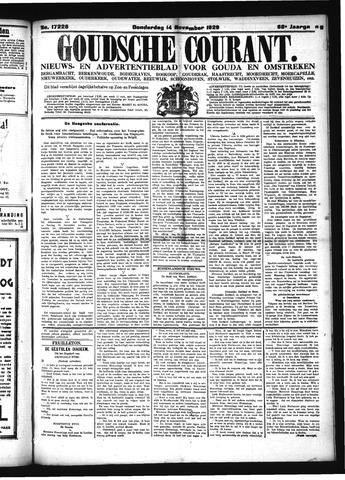 Goudsche Courant 1929-11-14