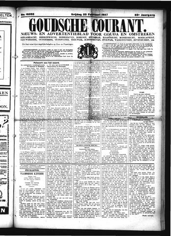 Goudsche Courant 1927-02-25
