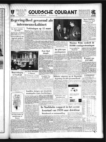 Goudsche Courant 1958-12-23