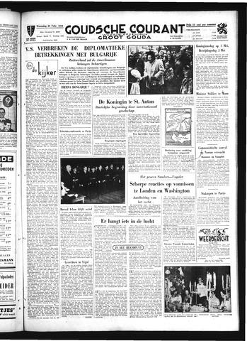 Goudsche Courant 1950-02-22