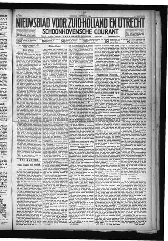 Schoonhovensche Courant 1929-09-04