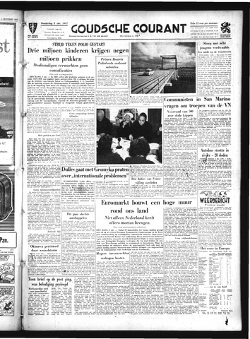 Goudsche Courant 1957-10-03