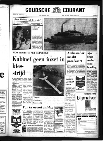 Goudsche Courant 1972-09-15