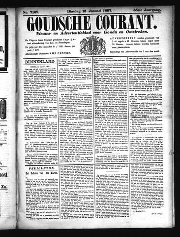 Goudsche Courant 1897-01-12