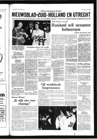 Schoonhovensche Courant 1969-06-16