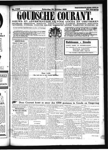 Goudsche Courant 1929-10-26