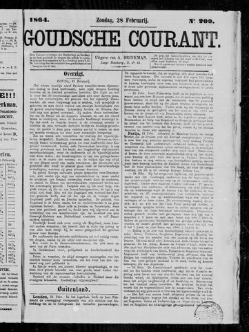 Goudsche Courant 1864-02-28