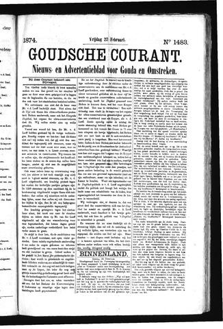 Goudsche Courant 1874-02-27