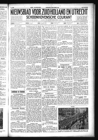 Schoonhovensche Courant 1933-09-27