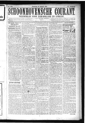 Schoonhovensche Courant 1925-01-26