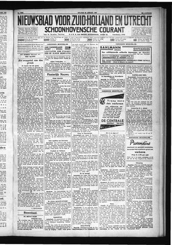 Schoonhovensche Courant 1931-01-23