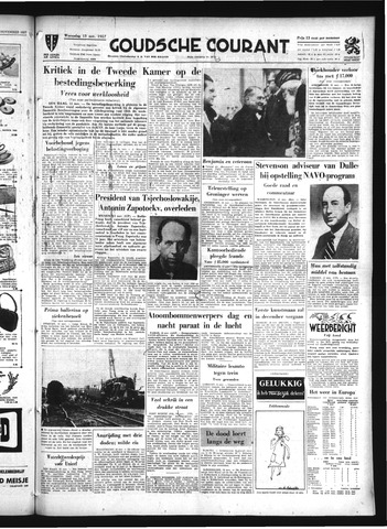 Goudsche Courant 1957-11-13