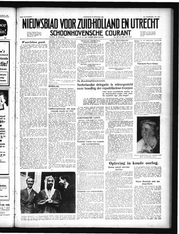 Schoonhovensche Courant 1949-08-31