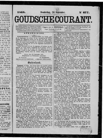 Goudsche Courant 1868-09-24