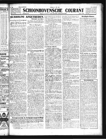 Schoonhovensche Courant 1943-07-27