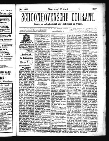Schoonhovensche Courant 1907-06-26
