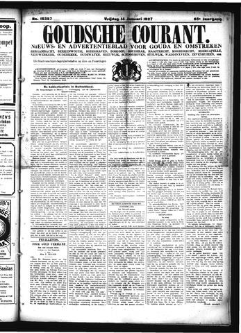 Goudsche Courant 1927-01-14