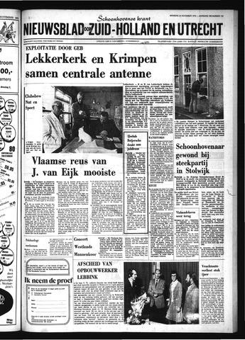 Schoonhovensche Courant 1975-11-24