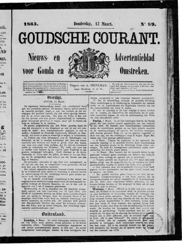 Goudsche Courant 1863-03-12