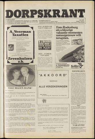 Dorpskrant 1982-07-09