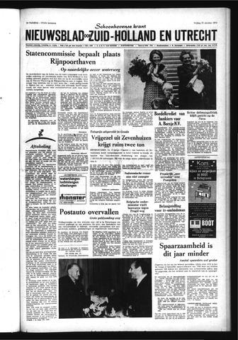 Schoonhovensche Courant 1970-10-30