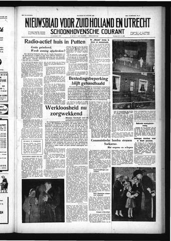 Schoonhovensche Courant 1958-01-20