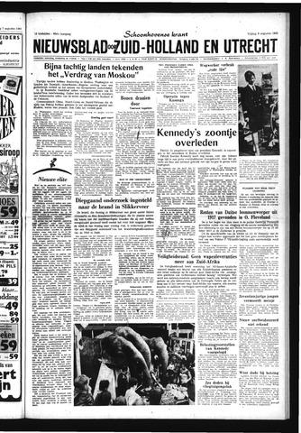 Schoonhovensche Courant 1963-08-09
