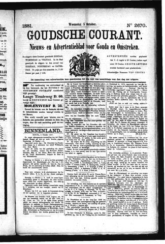 Goudsche Courant 1881-10-05