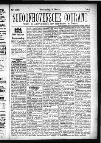 Schoonhovensche Courant 1912-03-06