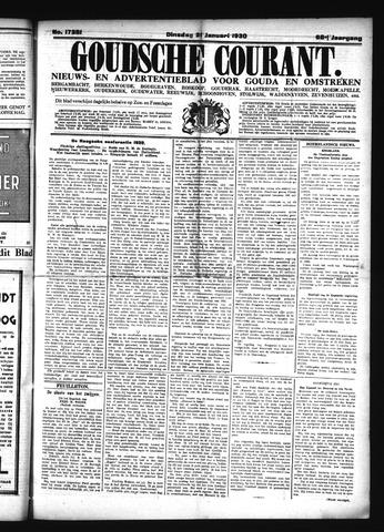Goudsche Courant 1930-01-21