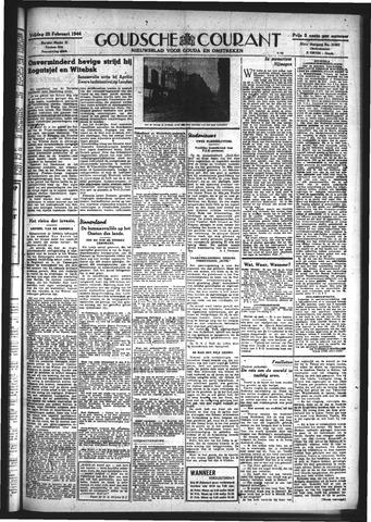 Goudsche Courant 1944-02-25