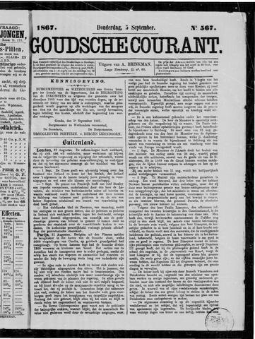 Goudsche Courant 1867-09-05