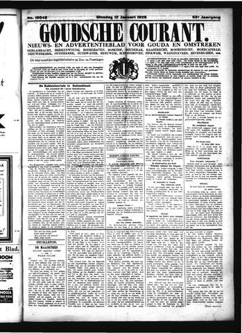 Goudsche Courant 1926-01-12